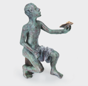 Jasons Sohn, 2015, Bronze, 43x20x28 cm, limit. 19 Ex.